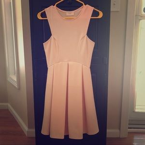 Everly Gorgeous Blush colored dress!